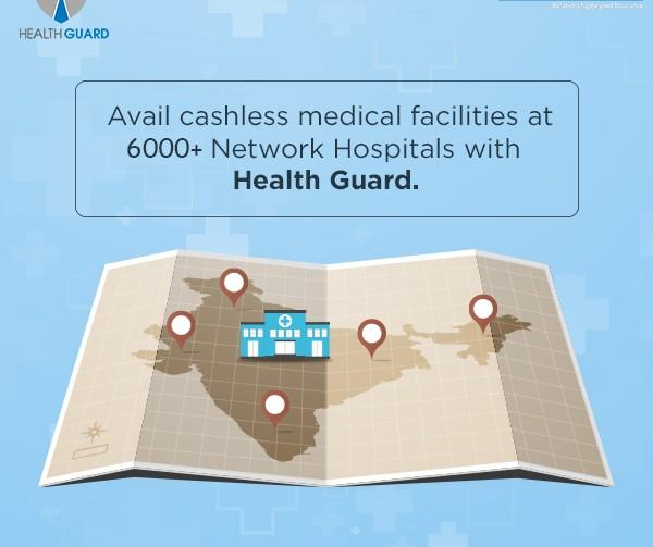 Cashless claims for health insurance plans