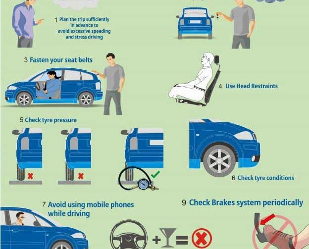 Drive-Safely-and-stay-away-from-accidents-infographics