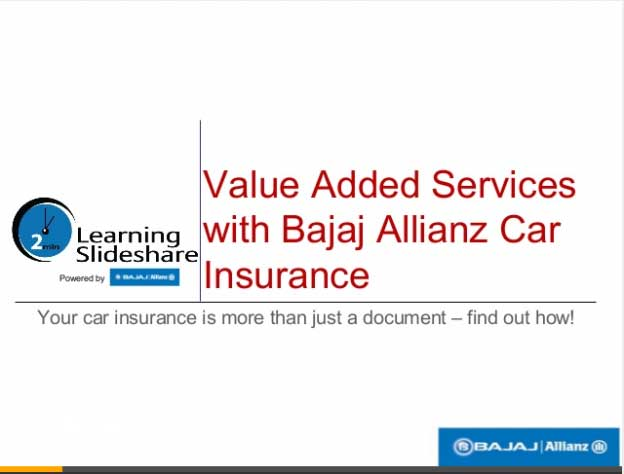 Car Insurance Value Added Services