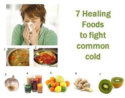 7-foods-common-cold