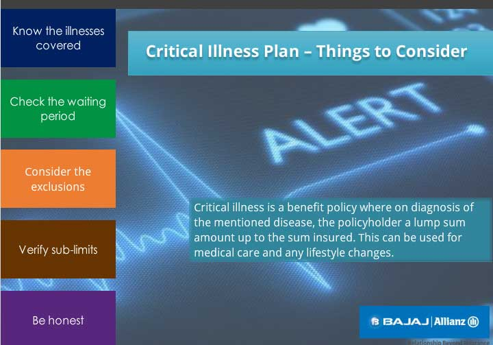 Checks you should make before buying critical illness insurance