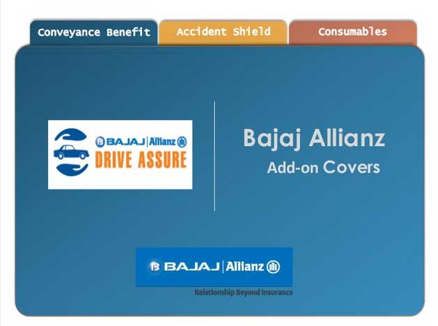 Bajaj Allianz Drive Assure Add-on Covers