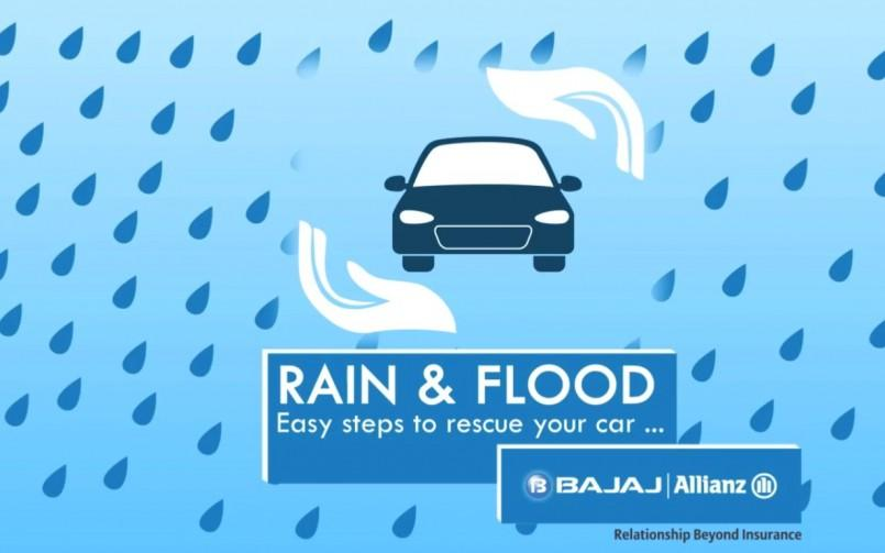 How To Rescue Your Car In Rain & Flood?