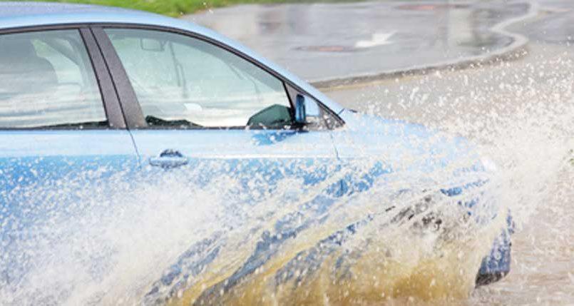Monsoon, hydroplaning, rain, car insurance, motor insurance, skidding, sliding, slipping