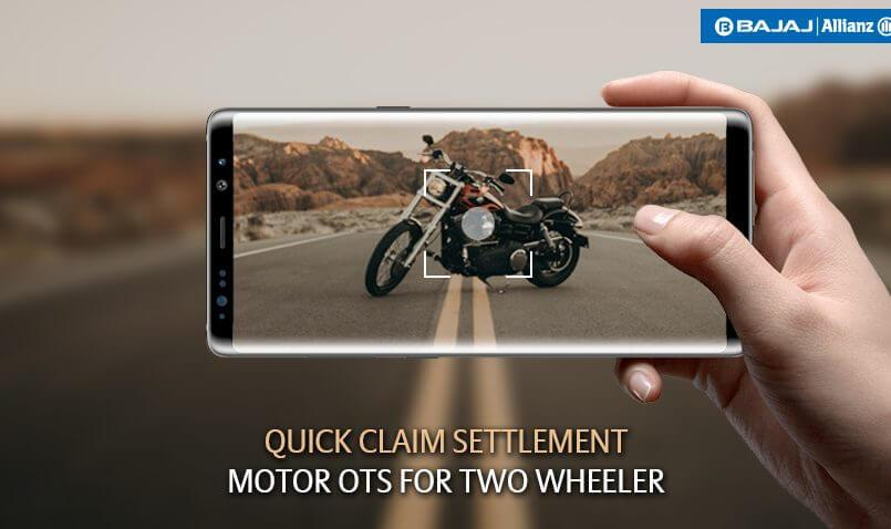 Two wheeler insurance claims settled in 20 mins with Motor OTS