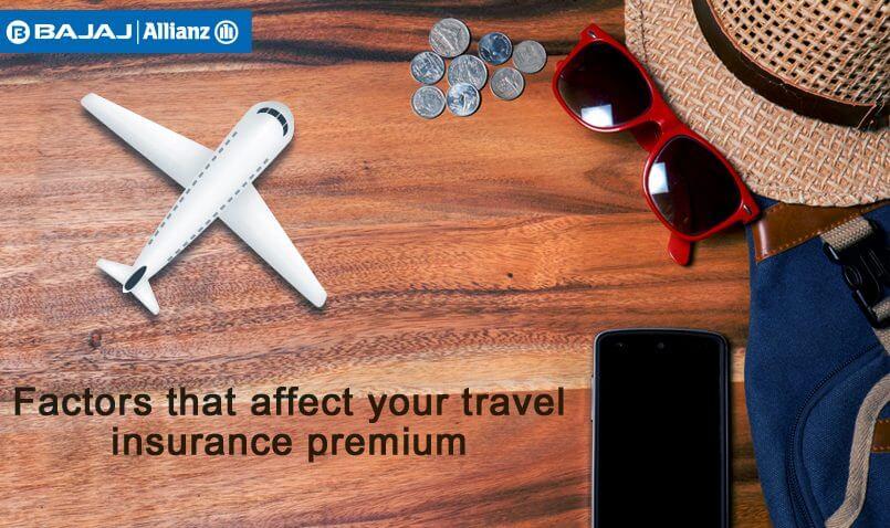 Factors that decide your travel insurance premium
