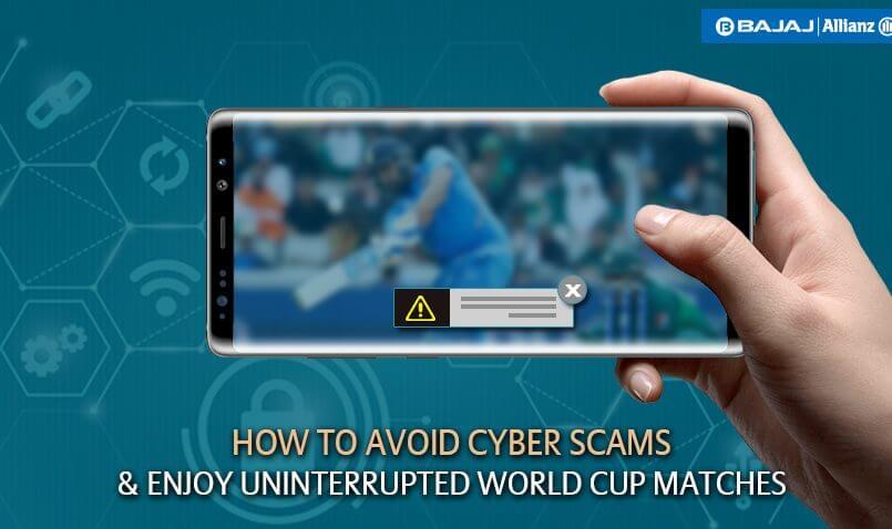 Avoid Cyber Scams during World Cup | Bajaj Allianz