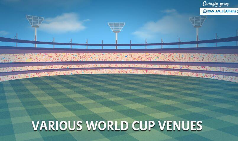Various ICC World Cup Venues | Bajaj Allianz