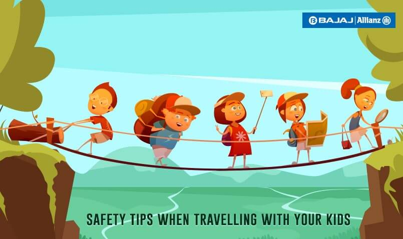 Safety tips when travelling with your children