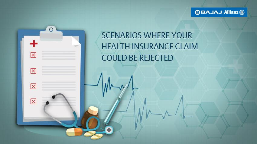 Health Insurance Claim Rejected? Here's Some Possible Reasons