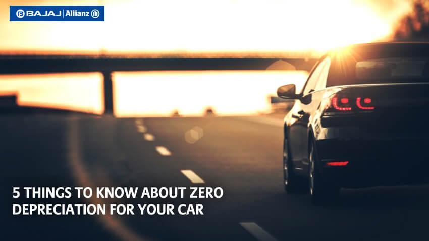 Zero Depreciation Car Insurance Cover
