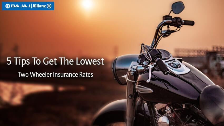 Two Wheeler Insurance Lowest Price Deals