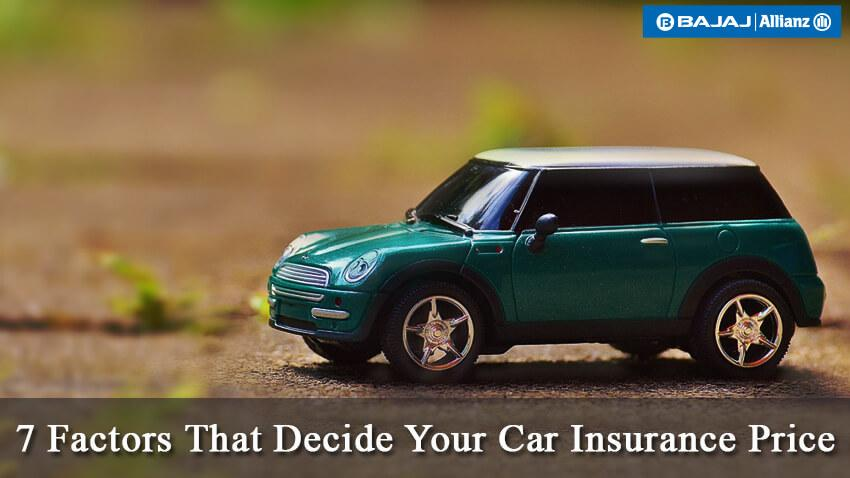 Car Insurance Prices: What Decides Car Insurance Costs?