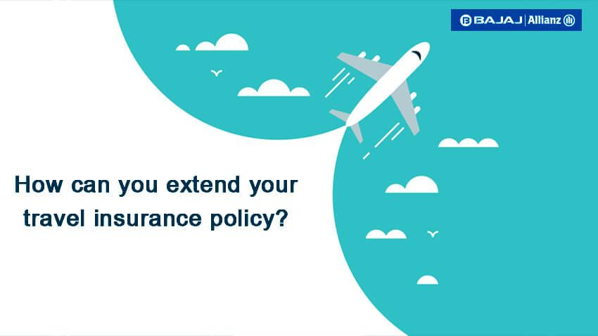 Travel insurance extension simplified