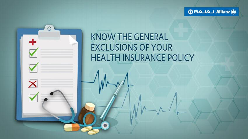Exclusions in Health Insurance: List of Diseases Not Covered Under Health Insurance