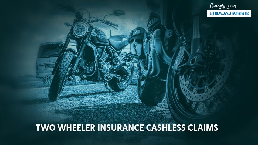 Cashless Two Wheeler Insurance, Cashless Bike Insurance by Bajaj Allianz