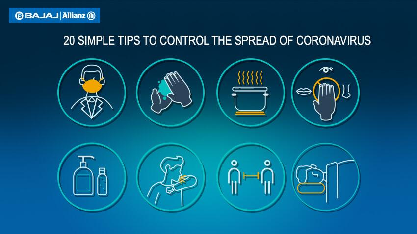 20 tips to help control Coronavirus transmission