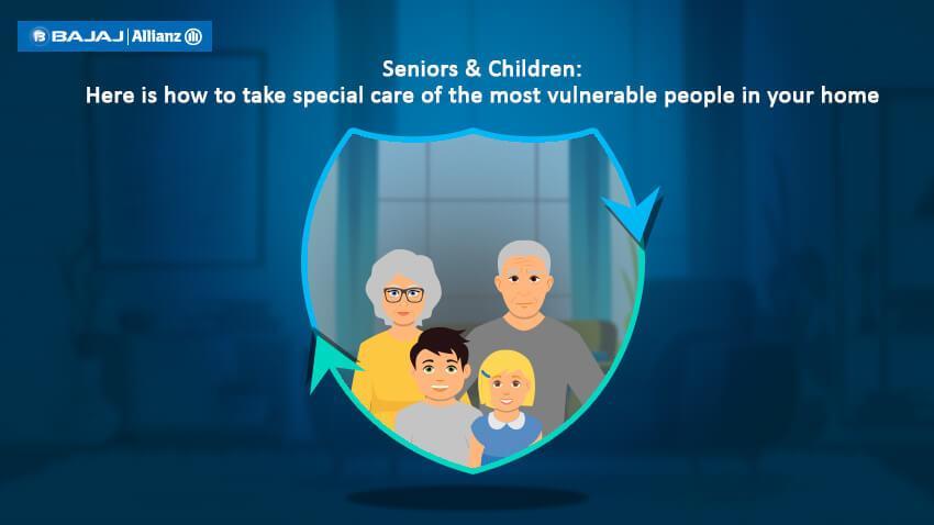 Seniors & children care tips for Coronavirus outbreak