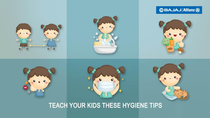 Teach your kids these hygiene tips
