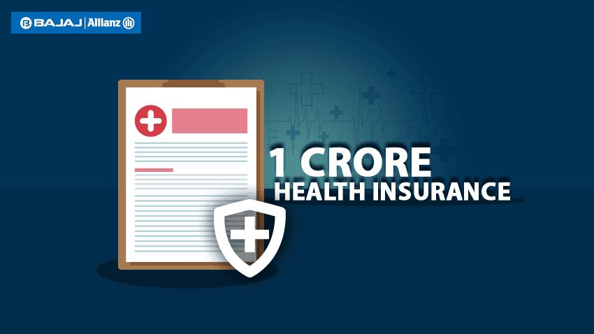 1 Crore Health Insurance