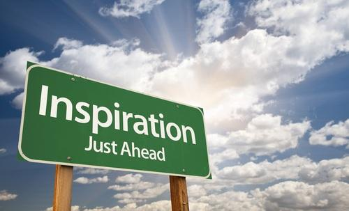 Why look for inspiration elsewhere when it is around us all the time