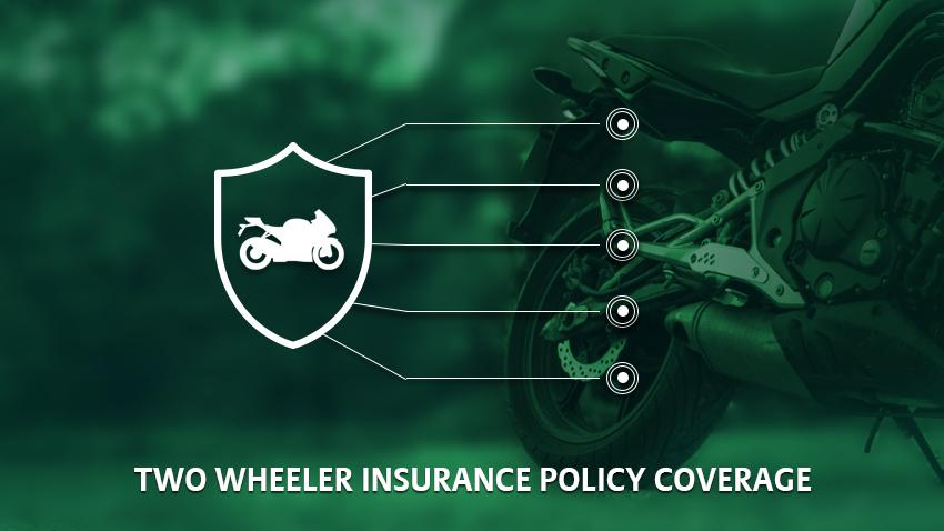 Two wheeler insurance coverage