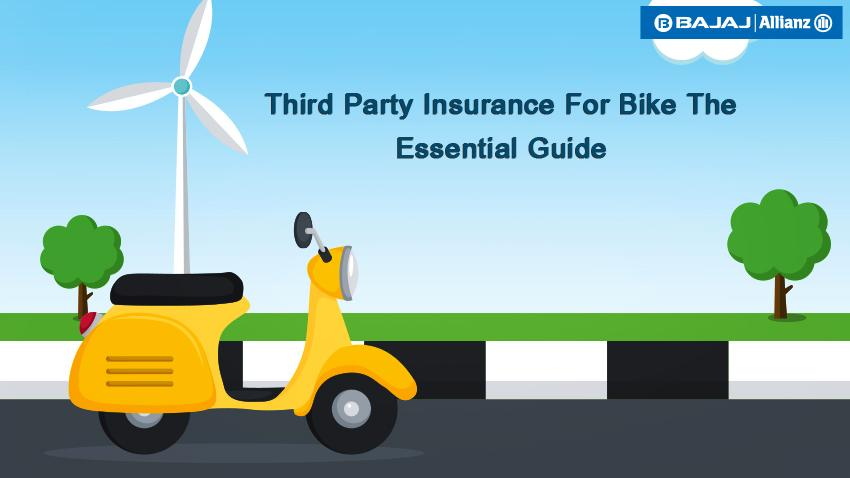 A guide for third party insurance for bikes