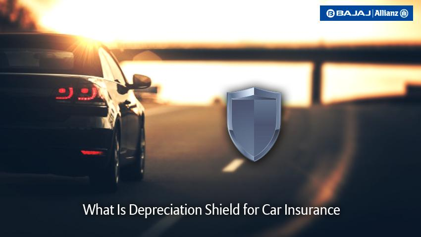 Car insurance depreciation shield cover