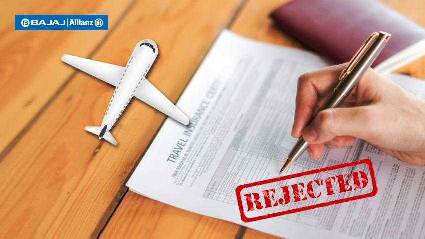 Reasons for travel insurance claim rejection